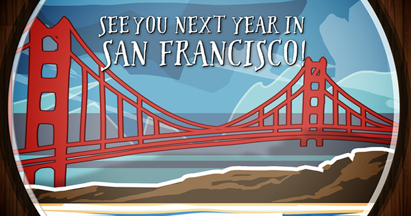 See you in San Francisco!