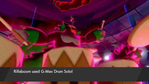 Rillaboom using G-Max Drum Solo