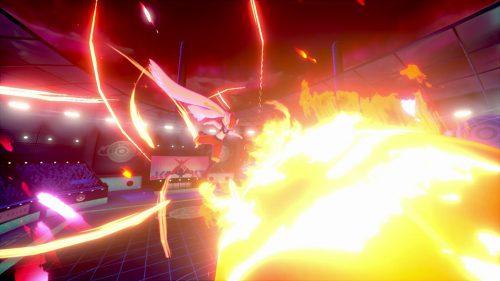 Cinderace using G-Max Fireball